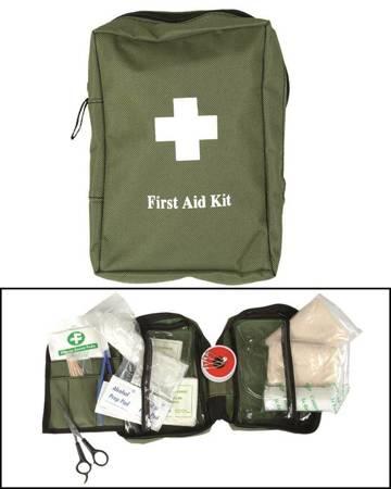 Apteczka - First Aid Kit - Duża - Zielony - Mil-Tec