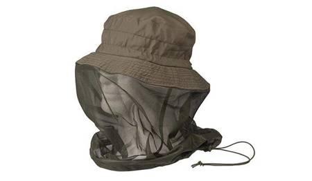 Kapelusz Boonie Hat z moskitierą - Zielony OD - Mil-Tec