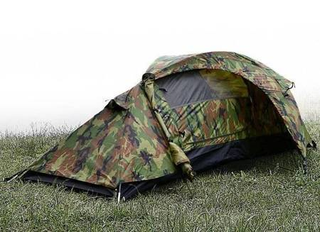 Namiot 1-osobowy Recom Woodland -  Mil-Tec