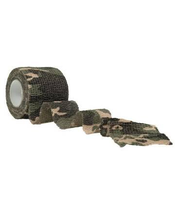 Taśma Self Adhesive Camo Tape - Woodland - Mil-Tec